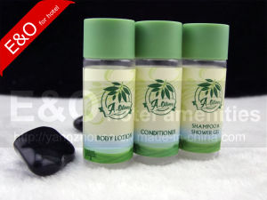 New Arrive Attractive Plastic Empty Hotel Shampoo Bottle pictures & photos