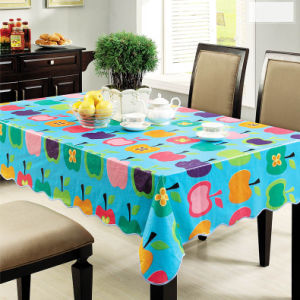 China Plastic Tablecloth Pvc Vinyl Tablecloth China