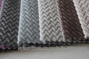 Two Tone Velvet Jacquard Fabric pictures & photos
