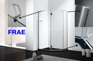 Diamond Frame Hinge Shower Cabinet pictures & photos