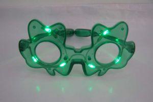 Party Celebration LED Flashing Glass (Shamrock) pictures & photos