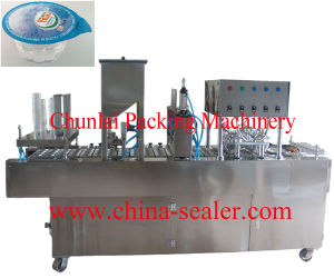 Factory Price Professional Automatic Plastic Cup Sealing Machine with Ce pictures & photos
