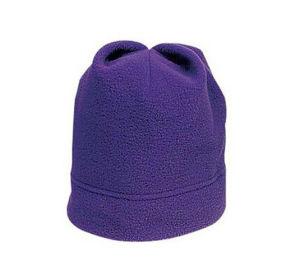 Warm Purple Winter Beanie Hat pictures & photos