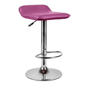 Modern Multicolor PU Leather Swivel Lift Dining Bar Stool (FS-T6109) pictures & photos