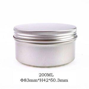 200ml Aluminum Cosmetic Tin Box Cream Jar pictures & photos