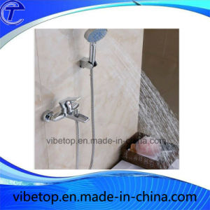 Stainless Steel Exquisite Electroplate Hand Shower Set pictures & photos