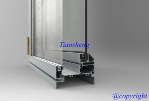 Aluminum Casement Window with Flyscreen pictures & photos