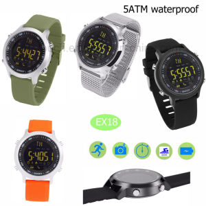High Quality Professional Waterproof Smart Watch Bracelet Ex18 pictures & photos