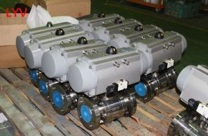 Lever 1 PC Trunion Ball Valve pictures & photos