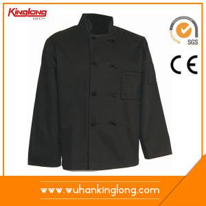 Chef Coat Solid Black Tc Uniform Chef Jacket