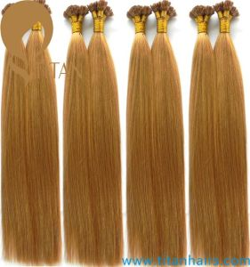 100% Brazilian Flat Tip Remy Human Hair Extension pictures & photos
