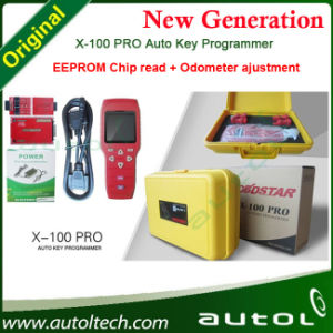 Obdstar X-100 PRO Auto Key Programmer C + D Type X100 Support Eeprom Add Odometer Adjustment + OBD Software Free Shipping pictures & photos