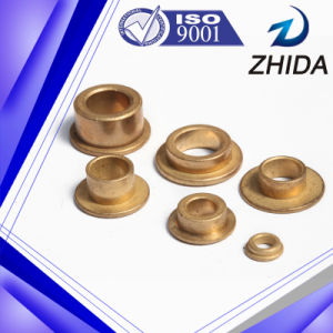 Electric Vacuum Cleaner Used Sintered Oil Bearing Bronze Flange Bushing pictures & photos