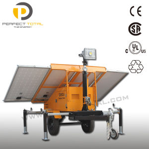 Solar Power Light Tower