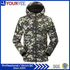 Military Camo Softshell Jacket Wholesale Waterproof Breathable Outerwear (YRK116) pictures & photos