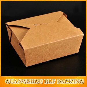 Kraft Paper Folding Cardboard Box (BLF-PBO373) pictures & photos