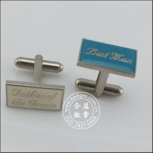 Customized Cufflink, Face Shape Metal Cufflink (GZHY-KA-030) pictures & photos