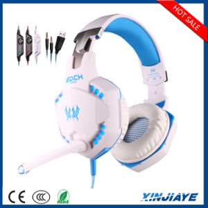 Original G2100 Hifi Stereo Wired Gaming Headphone with LED Noice Cancelling pictures & photos