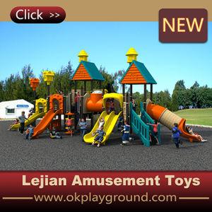 2016 Amazing Design Children Plastic Outdoor Slide Equipment (X1509-5) pictures & photos