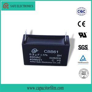 Metallized Film Fan Capacitor Cbb61 pictures & photos