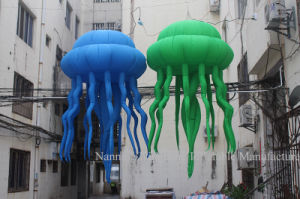 Customized Stage Event Party Decoration Inflatable Jellyfish with LED Light