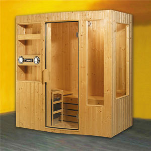 Monalisa Harvia Heater Sauna with Speaker and Shelf (M-6003) pictures & photos