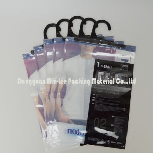 Customized OPP+CPP Bag, Plastic Package Bag with Hook, Laminated Underwear Bag, Composite Garment Bag, Composite Hanger Bag (ML-E01) pictures & photos