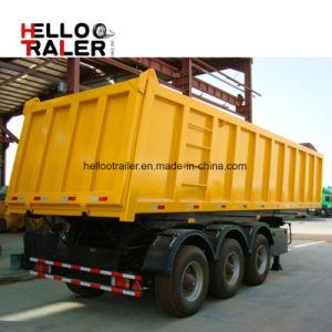 3 Axle Dump Semi Trailer Sand Stone Transport Tipper Semi Trailer pictures & photos