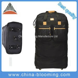 Travel Outdoor Lightweight Trolley Wheeled Duffle Bag Expandable Luggage pictures & photos