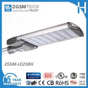 230W LED Street Light with UL DLC CE SAA for All Markets pictures & photos