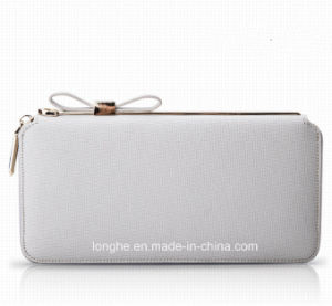 2016 Excellent Handmade Simple New Arrival Purse (ZX10163) pictures & photos