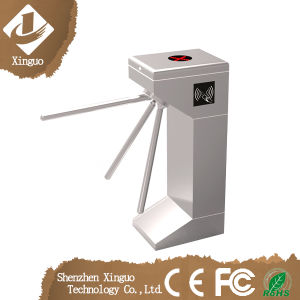 Hot Sell Pedestrian Channel Supermarket Counter Turnstile pictures & photos