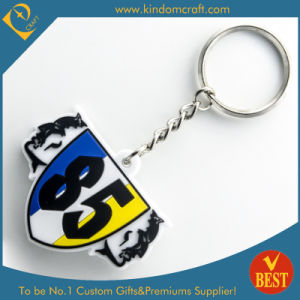 High Quality China Customized Cheap Sport Style PVC Key Chain for Brand Publicity pictures & photos