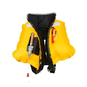 Manual Inflatable Life Jacket Automatic Inflatable Lifejacket 150n Floatage Life Vests pictures & photos