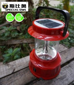 4V2W LED Camping Lantern/Lighting with Solar, &Mobile USB Charging, Portable LED Solar Camping Light, Solar Lantern Camp Lights, Hanging Camping Hiking Lantern pictures & photos