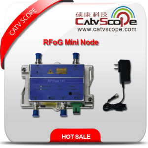 Professional Supplier High Performance CATV FTTH Bi-Directional Optical Fiber Receiver Rfog Mini Node