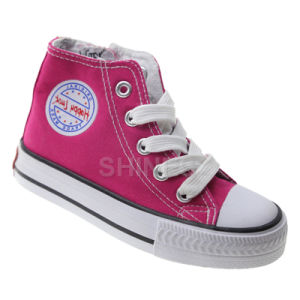 Basic Lace up Canvas Vulcanized Shoes