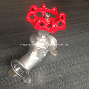 Stainless Steel Dn20 CF8/CF8m Globe Valve (J11W-16P/R) pictures & photos