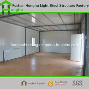 Hot Sale Easy Assembling Prefabricated House Flat Roof House Building pictures & photos
