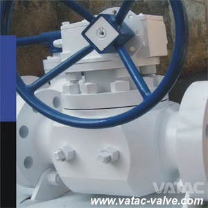 Forged Steel A105/F11/F22 Full Bore RF Flanged Top Entried Ball Valve pictures & photos