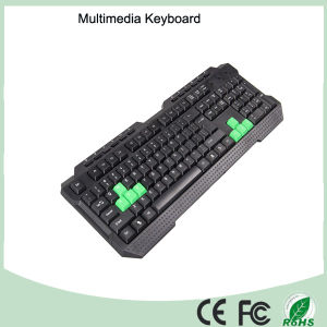 116 Keys Cheapest Wired Gaming Keyboard Multimedia (KB-1688M-G) pictures & photos