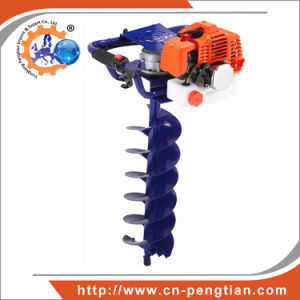 Professional Ground Drill 52cc Earth Auger with 100mm; 150mm & 200mm Processing Machinery pictures & photos
