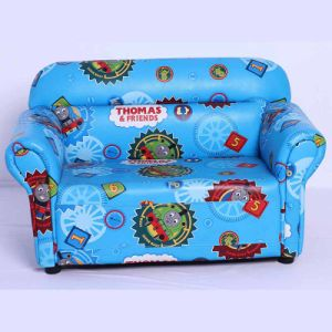 Children Double Leather Sofa (SXBB-48-10) pictures & photos