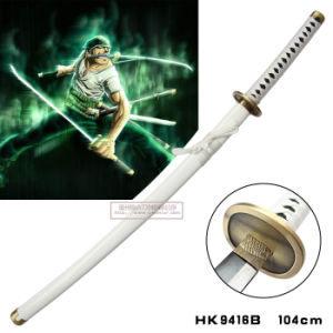 One Piece Roronoa Zoro Wado Ichimonji Katana Sword 104cm pictures & photos