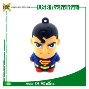 Superman USB Flash Drive Cartoon Pen Drive pictures & photos