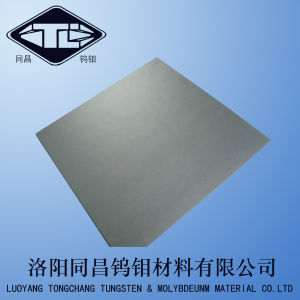 Tungsten Sheet in Cold Rolled Condition pictures & photos