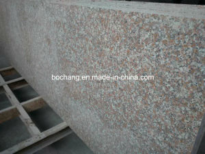 G687 Polished Peach Red Granite Slab for Kitchen Countertop pictures & photos
