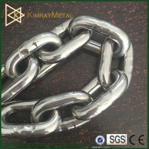 Stainless Steel Link Chain DIN766 and DIN763 pictures & photos