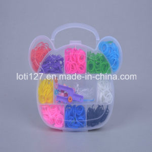 Little Bear′s Head Shape, 10 Kinds of Color, Children′s Toys, Rainbow Weaving Machine, Popular Children′s Toys, Fashion Toys