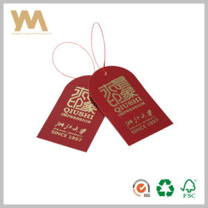 China Hangzhou Garment Wholesale Garment Hang Tags pictures & photos